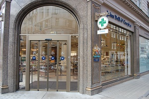 The Active Health Clinic, London. Situated within John Bell & Croyden.